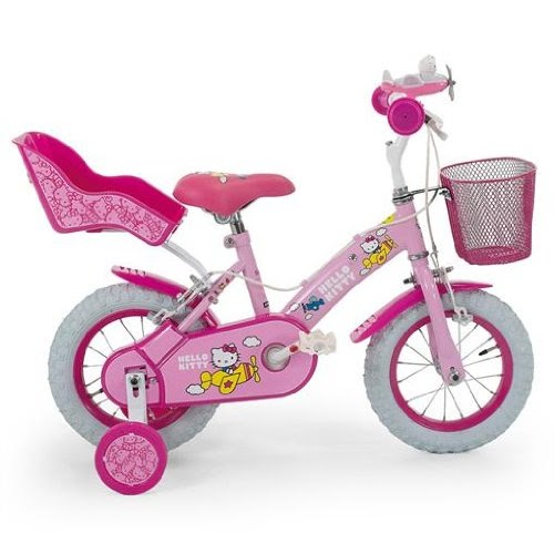 kinderfahrrad mit st tzr dern hello kitty kinder fahrrad. Black Bedroom Furniture Sets. Home Design Ideas