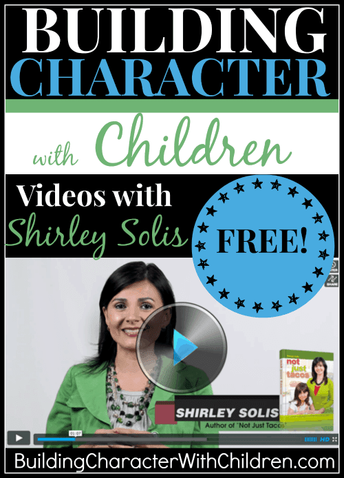 Building Character with Children