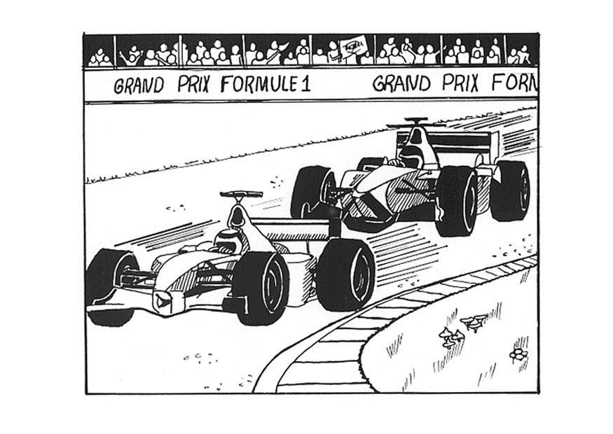 Formula Uno Da Colorare Migliori Pagine Da Colorare