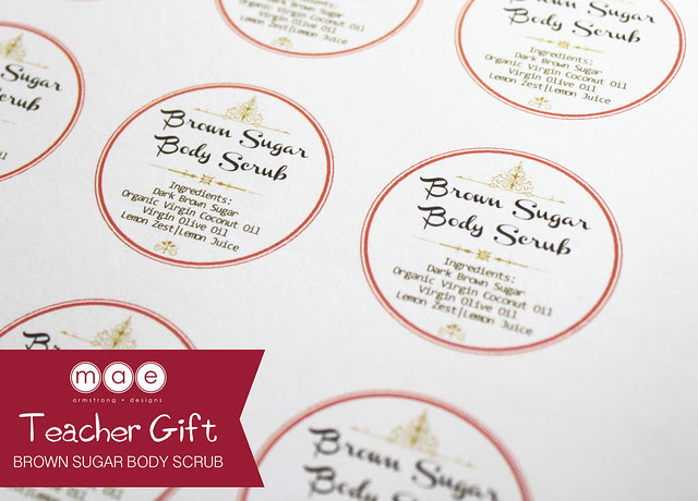 Teacher Gift - Brown Sugar Body Scrub2