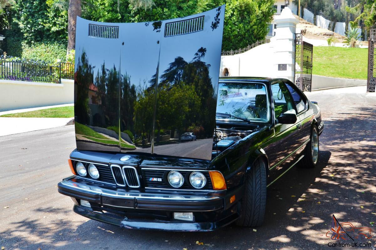 1987 Bmw M6 E24 74k Miles Original California Car Single Owner