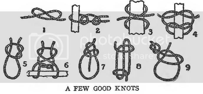nine knots to know for use in farming