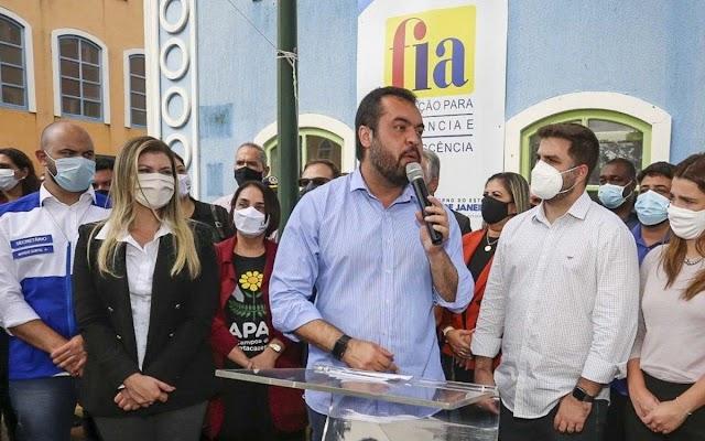 Cláudio Castro inaugura unidade da FIA em Campos dos Goytacazes - RJ