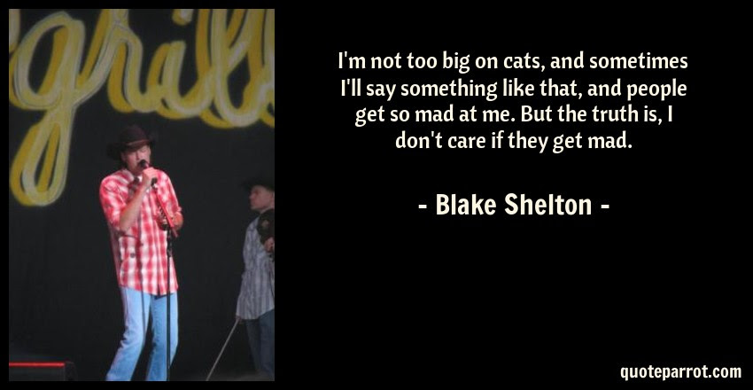 Im Not Too Big On Cats And Sometimes Ill Say Somethi By Blake