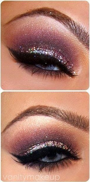 Pretty ways to wear glitter.