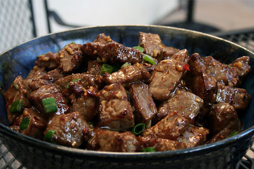 Beef with cumin