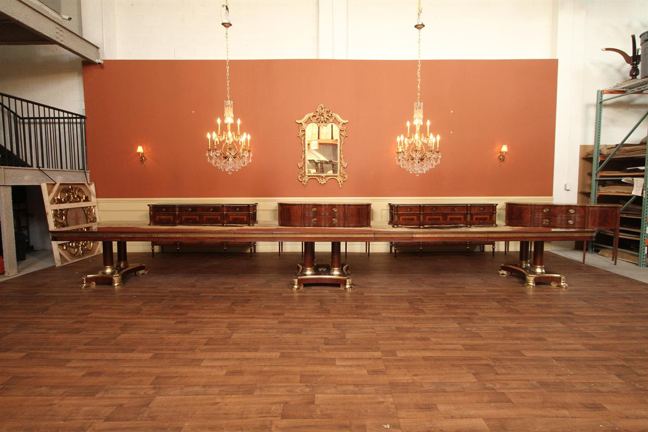 Large Dining Room Table Design Builders