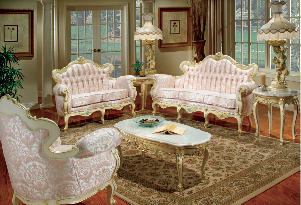 How To Have A Victorian Style For Living Room Designs | Bill House ...