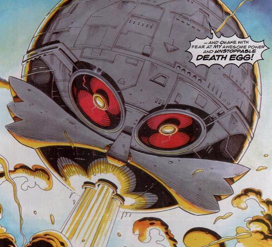 Death Egg Comics