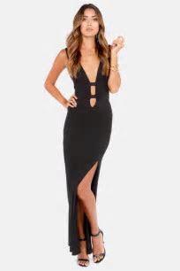 Sexy Black Dress   Maxi Dress   Cutout Dress   $49.00
