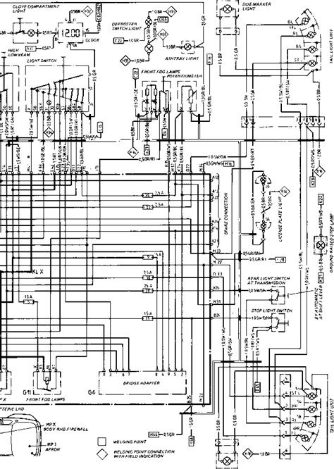 Diagram Type 944944 turbo - Porsche 944 Electrics