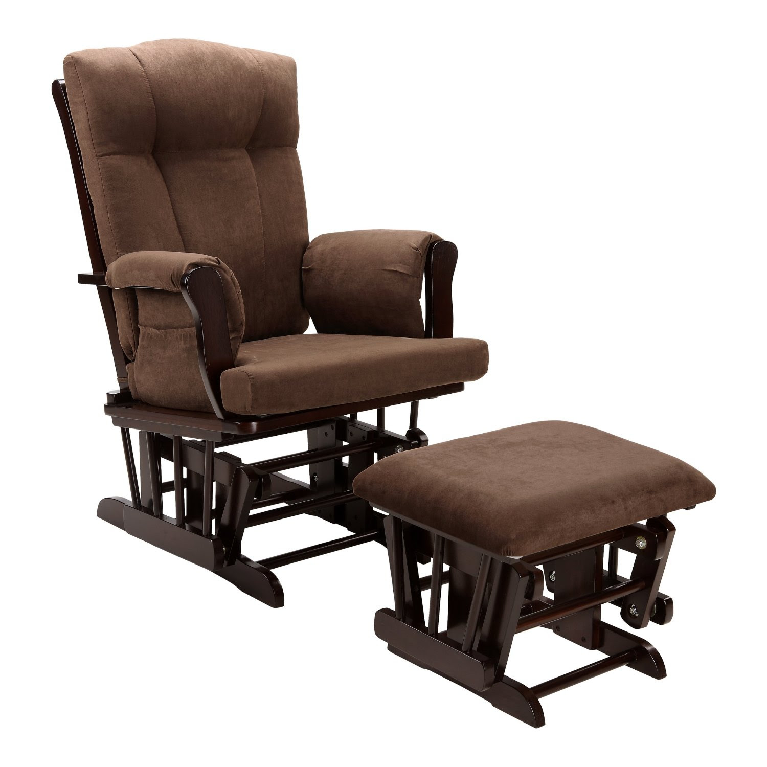 Wooden Base Of Reading Chair With Ottoman