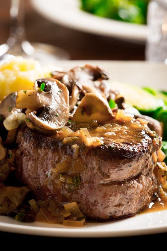 big sexy steaks with tarragon mushrooms  Healthy Seasonal Recipes
