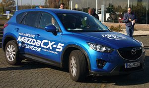 English: Mazda CX-5 during The Longest Test Dr...