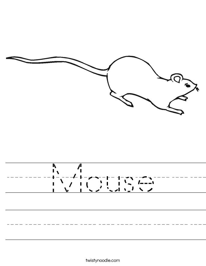 mouse 2_worksheet