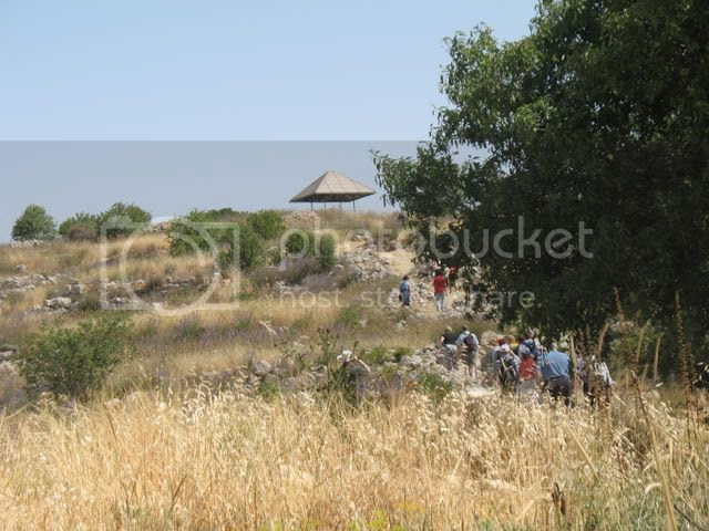 At Tel Shiloh 2
