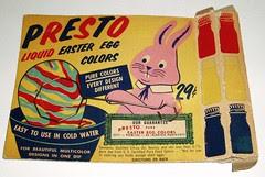 Presto Easter Egg coloring kit