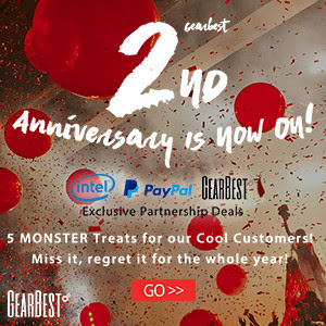 Gearbest 2nd Anniversary Carnival