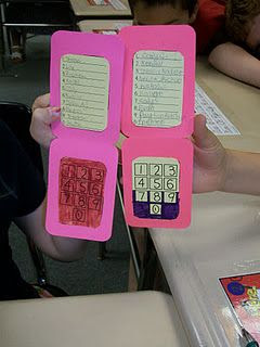 cell phone partners-each child selects 10 names to put on a speed dial number. When you need a partner, teacher calls out a number and they check the speed dial to see who their partner is this time. cute idea