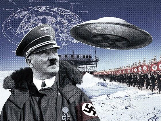 Hitler in Antarctica