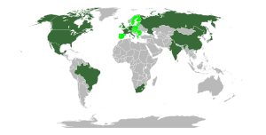 G8+5 Countries (Canada, France, Germany, Italy...