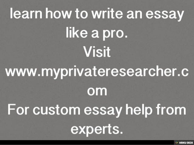 Mar 27, · This infographic illustrates the process of writing a good essay, important rules, and step-by-step instructions.It will also show you a few very common mistakes to look out for in student essays.