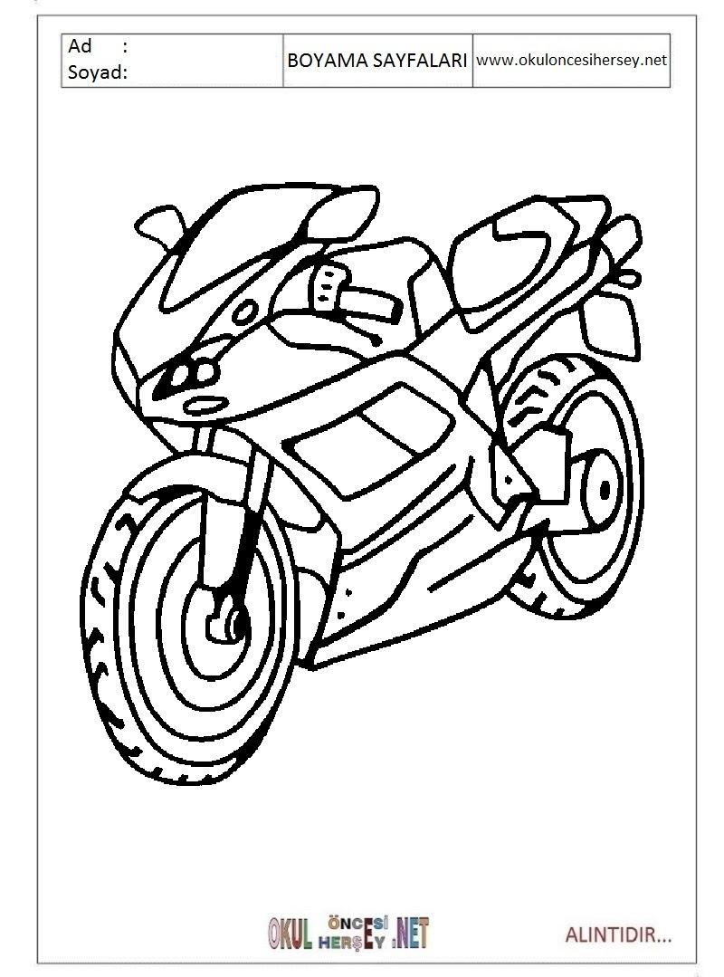 Motor Boyama Oyunu