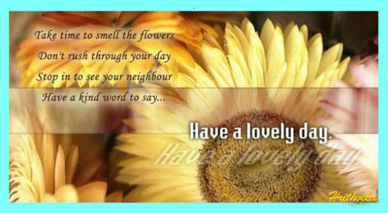 Have A Lovely Day Ahead Free Have A Great Day Ecards Greeting