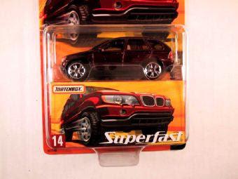 Matchbox Superfast 2005 Usa 14 Bmw X5 Mve Collectibles