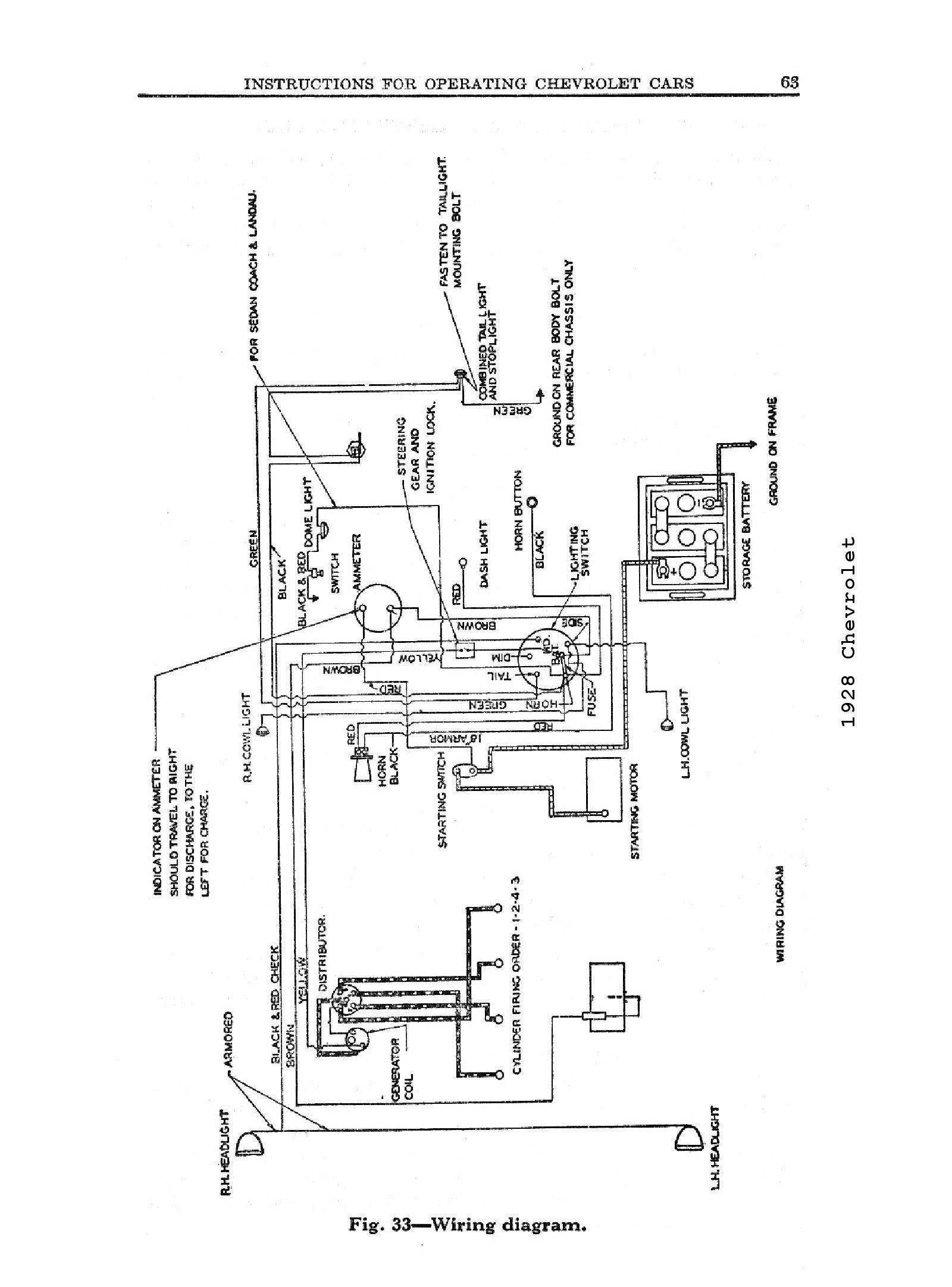 1962 Chevrolet Wiring Diagram