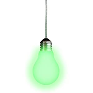Amazon.com: Glow in the Dark Light Bulb Pull Chain for Ceiling ...
