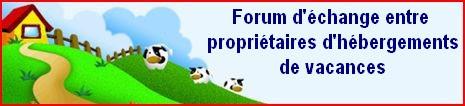 Forum des gîtes et chambres d'hôtes d'alsace, de France et d'ailleurs