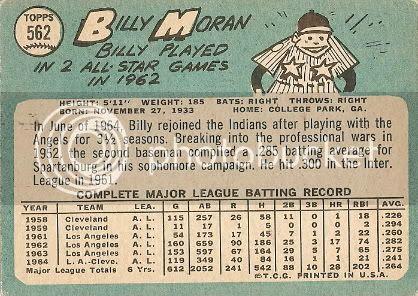 MORANB.jpg #562 Billy Moran (back) picture by brotz13