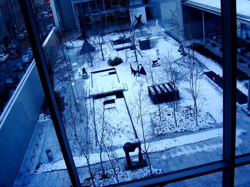 Scupture garden at MOMA