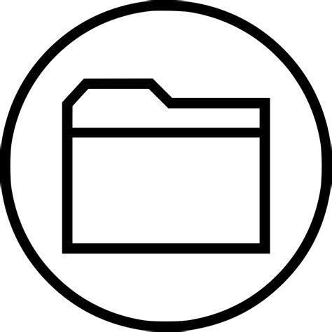 folder archive save file data svg png icon