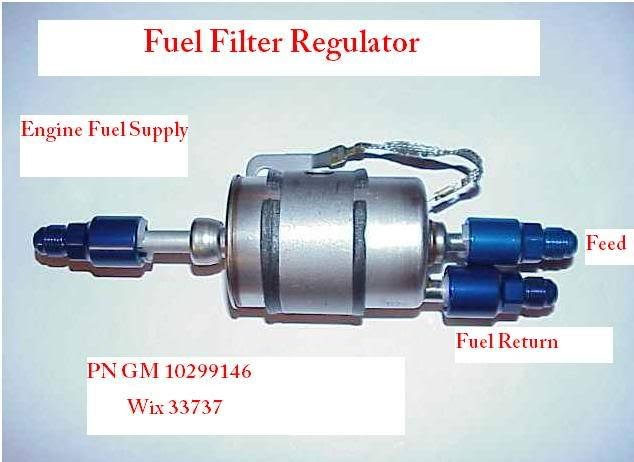 Corvette Fuel Filter Regulator Diagram