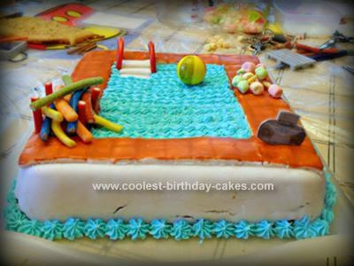 Coolest Swimming Pool Cake 60