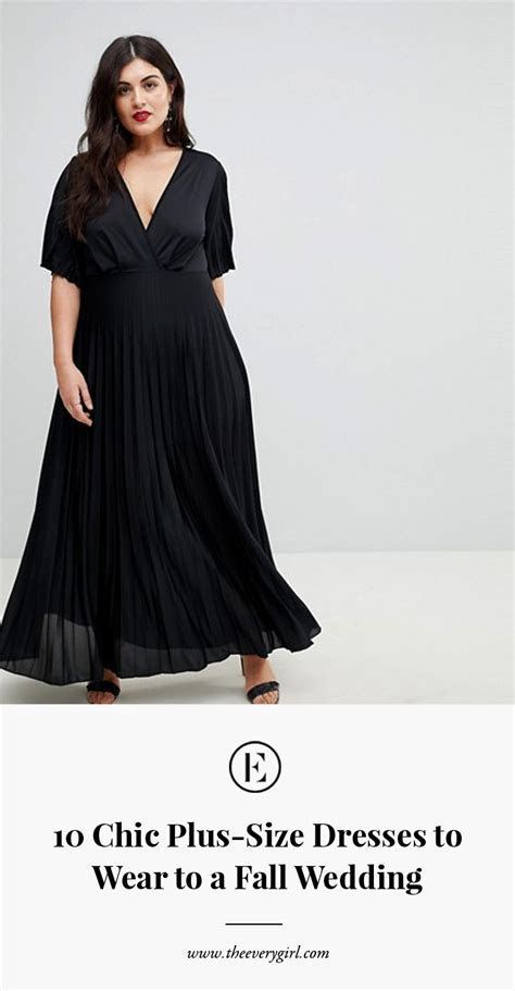 10 Chic Plus Size Dresses to Wear to a Fall Wedding   The