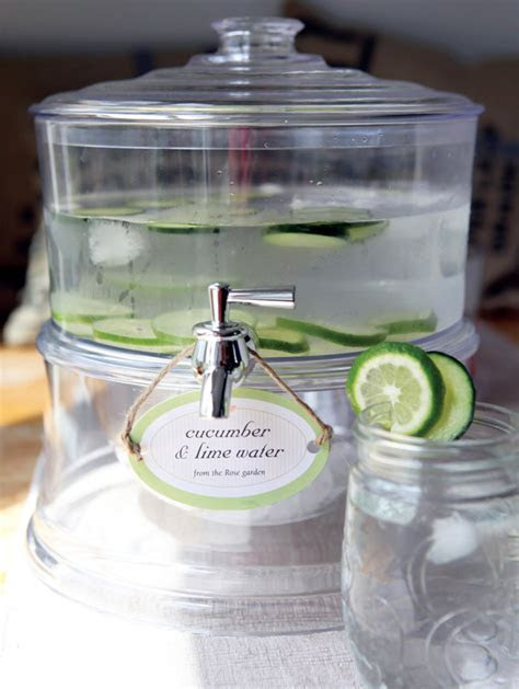 Flavored Water Party Recipes   Party Inspiration