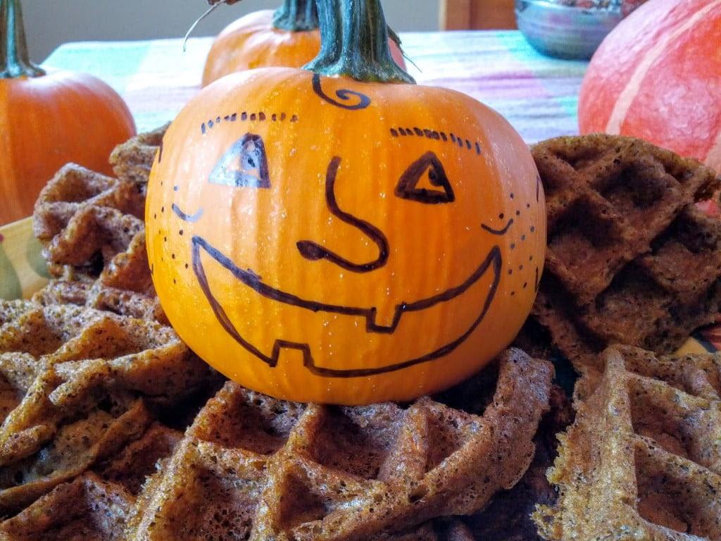 Punkwheat Waffles: Gluten-free Vegan Pumpkin Buckwheat ...
