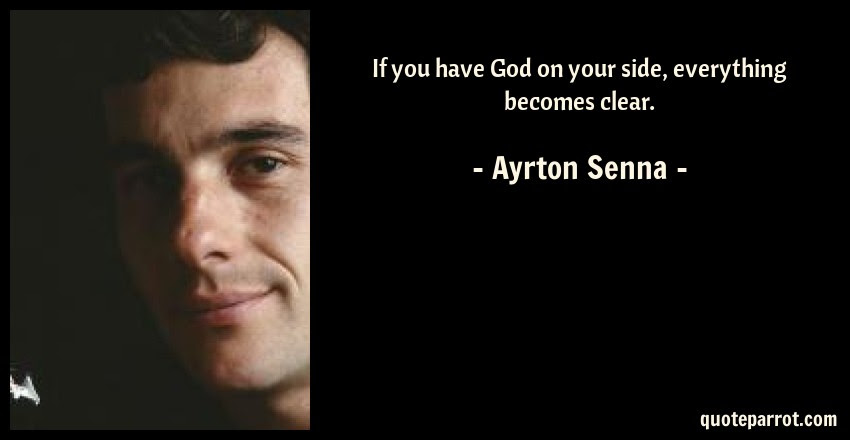 If You Have God On Your Side Everything Becomes Clear By Ayrton