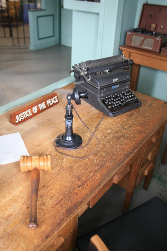 Sherriff Andy Taylor's Desk