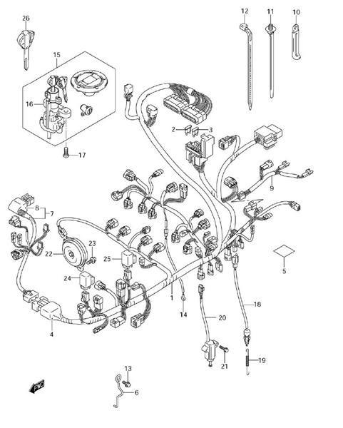 32 Suzuki Gsxr 750 Wiring Diagram