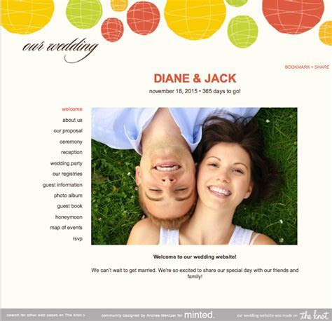 What to Include on Your Wedding Website ? Las Vegas
