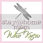 stay @ home mom who knew