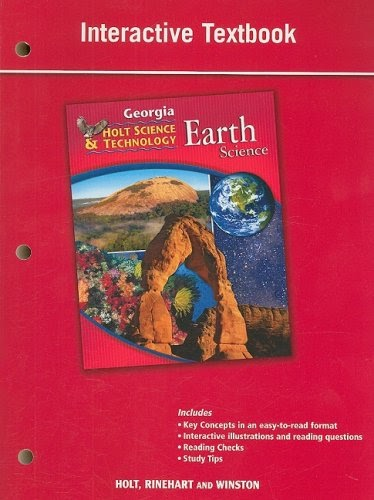 interactive textbook: Georgia Holt Science & Technology ...