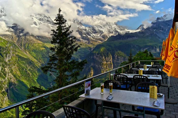 Hotel Edelweiss in Mürren, suiza