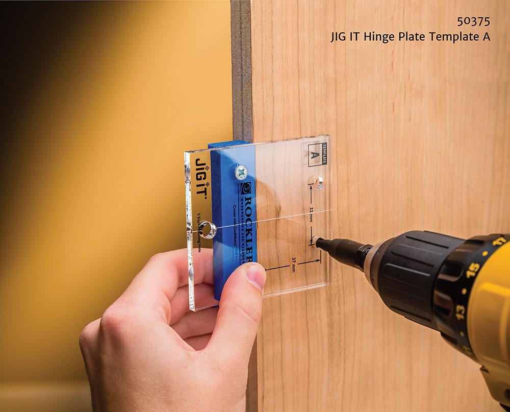 Rockler Simplifies Concealed Hinge Installation - JIG IT ...