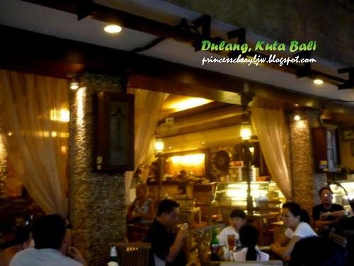 Dulang Restaurant Kuta Bali entrance