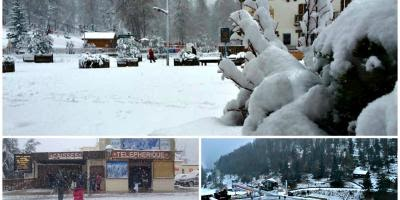 Les images de la neige qui tombe ce dimanche sur les stations azuréennes